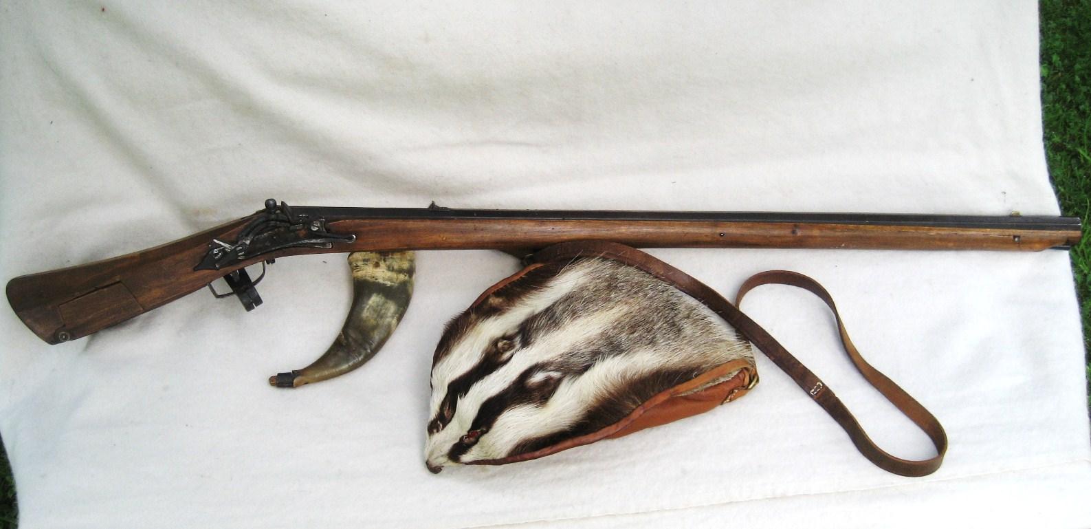 New original snaphaunce rifle  - Traditional Muzzleloading